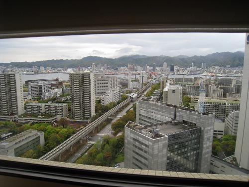 4月 神戸ポートピアホテル 本館エグゼクティブスイートルーム リビング_a0055835_22202842.jpg