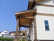静岡県での住宅用ティンバーフレーム23 完成_d0059949_1434849.jpg
