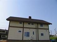 静岡県での住宅用ティンバーフレーム23 完成_d0059949_1444896.jpg