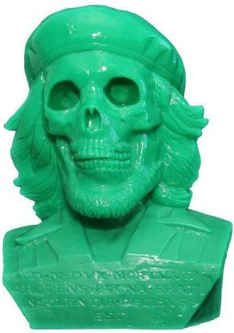 Dead Che Bust  GID Green by Kozik_e0118156_1721418.jpg