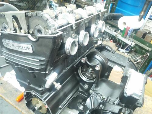 NさんのGPZ900R A12国内 エンジンオーバーホールその4_a0163159_2046347.jpg