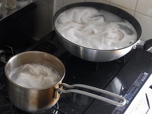 【 タオルの煮洗い 】_c0199166_22413467.jpg