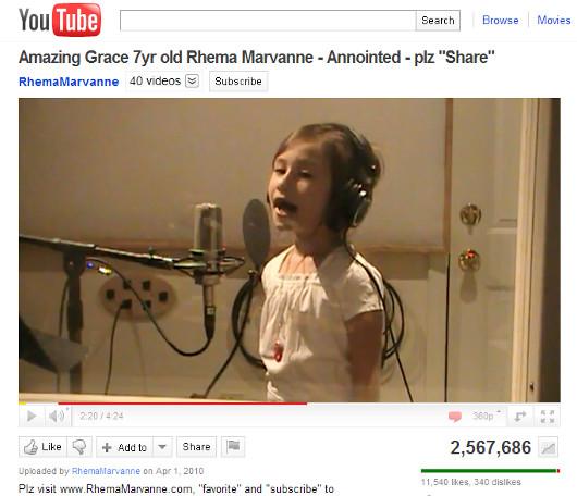 7歳の少女、レイマちゃん(rhema marvanne)の天使の歌声に癒されます_b0007805_11563813.jpg