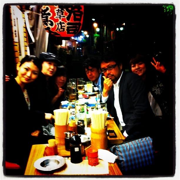 第1回 「浅草B級グルメツアー」へGO〜♪_f0170519_2226313.jpg