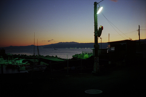 Nightfall at Fukuura