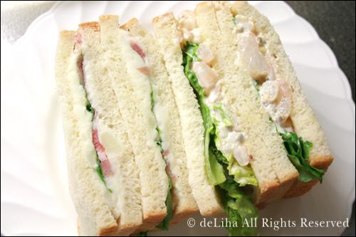 <パリの空の下>・サンドイッチうまっ!♪ _c0131054_1461175.jpg