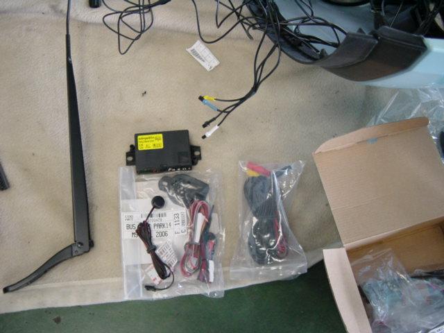 NEWC3,ナビ、キセノン、前後のセンサー取り付け_c0199873_1024097.jpg