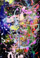 4歳の天才画家、アリータちゃん(Aelita Andre)がニューヨークのギャラリーで初の個展を開きます!!!_b0007805_7131292.jpg