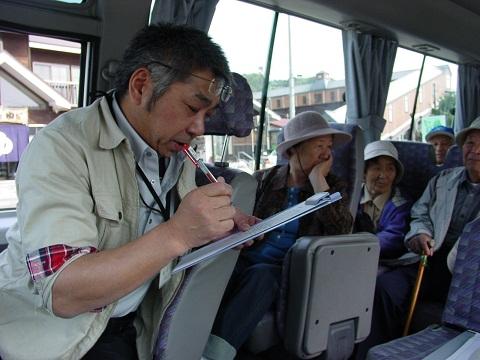 西和賀から陸前高田へ送迎バス運行中!_d0206420_1235683.jpg