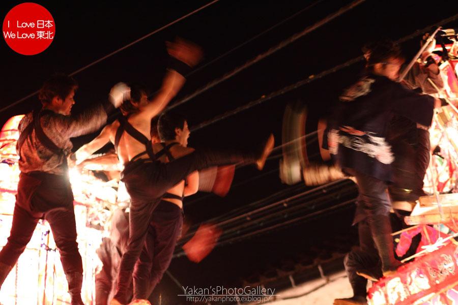 南砺市福野 「夜高祭」 写真撮影記08 引き合い(喧嘩)編_b0157849_20295079.jpg