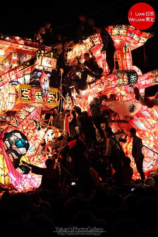 南砺市福野 「夜高祭」 写真撮影記08 引き合い(喧嘩)編_b0157849_2029533.jpg
