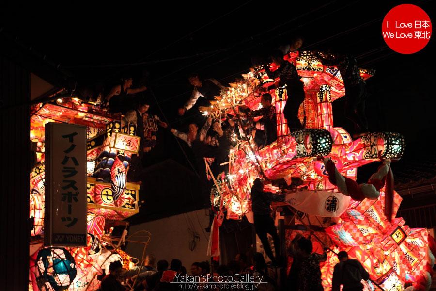 南砺市福野 「夜高祭」 写真撮影記08 引き合い(喧嘩)編_b0157849_2030371.jpg
