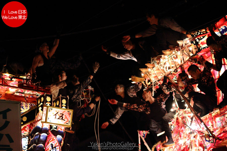 南砺市福野 「夜高祭」 写真撮影記08 引き合い(喧嘩)編_b0157849_2030676.jpg