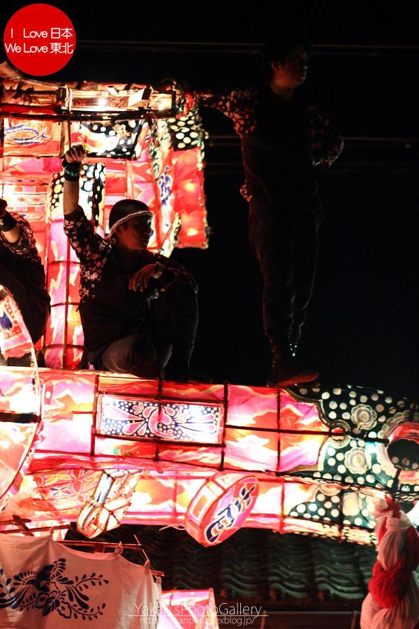 南砺市福野 「夜高祭」 写真撮影記09 引き合い(喧嘩)の後編_b0157849_20445561.jpg