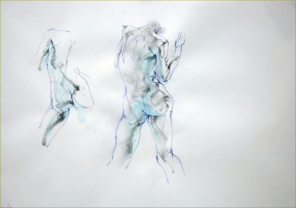 裸婦スケッチ  4_f0159856_5552192.jpg