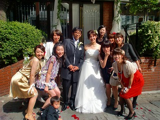 happy wedding ♪_c0200917_1016099.jpg