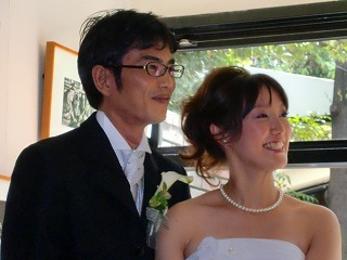 happy wedding ♪_c0200917_1020987.jpg