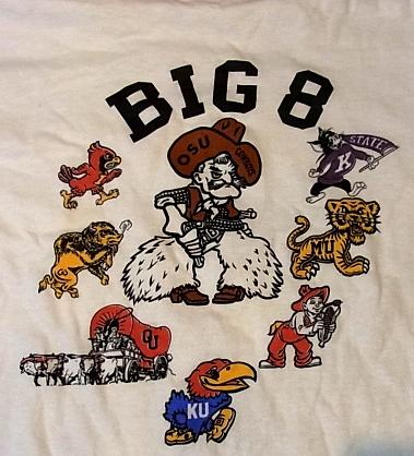 5/28(土)入荷!カレッジパシィフィック BIG 8 Tシャツ!_c0144020_13514314.jpg