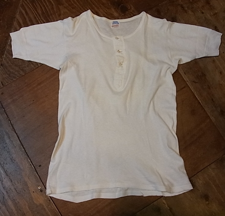5/28(土)入荷!40'S-50'S ヘンリーネック Tシャツ!_c0144020_16202390.jpg