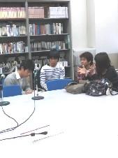 関西学院大学総合政策学部山中速人研究室メディアの実践の取材は、先輩でした!#468_e0068533_23293135.jpg