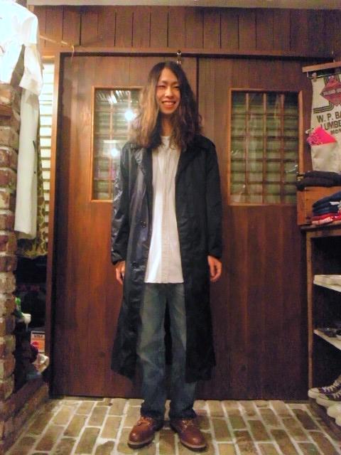 雨の日が楽しみなミリタリーコート!(トアウエスト神戸店)_c0078587_22435337.jpg