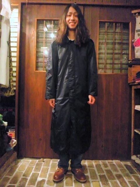 雨の日が楽しみなミリタリーコート!(トアウエスト神戸店)_c0078587_22441497.jpg