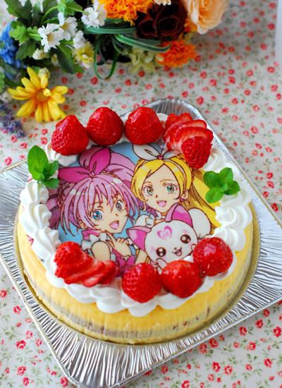 スイートプリキュアのチーズケーキ_c0169657_0134572.jpg