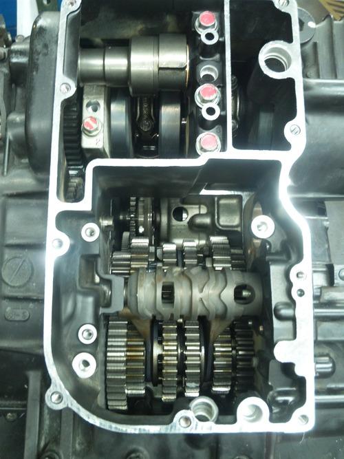 NさんのGPZ900R A12国内 エンジンオーバーホールその5_a0163159_22195032.jpg