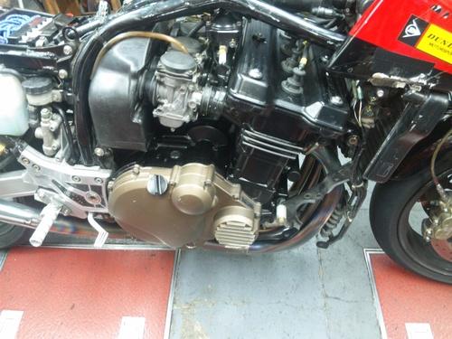 NさんのGPZ900R A12国内 エンジンオーバーホールその5_a0163159_22233243.jpg