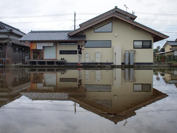 「大井松田の家」経年変化     2011.5.27_f0230666_19394732.jpg