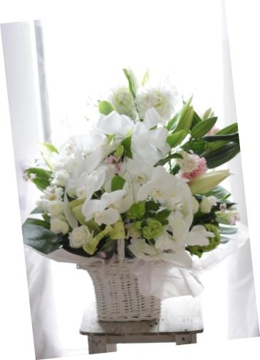 偲ぶお花 アレンジメント_f0213974_9113053.jpg