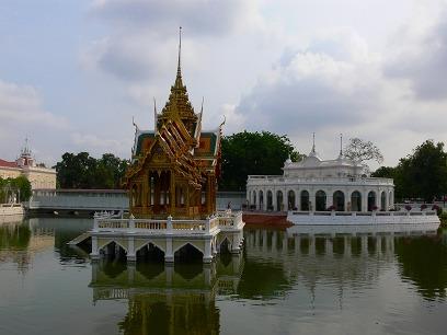 タイ出張2011年04月-週末旅行(I)-アユタヤ(1)-バンパイン宮殿と日本人街跡_c0153302_22743100.jpg