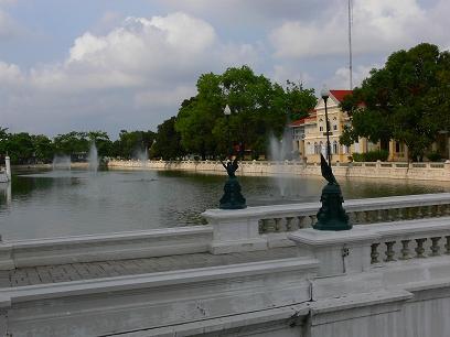 タイ出張2011年04月-週末旅行(I)-アユタヤ(1)-バンパイン宮殿と日本人街跡_c0153302_2281067.jpg