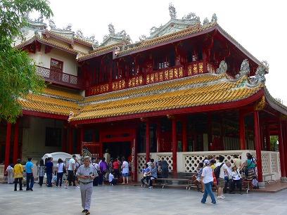 タイ出張2011年04月-週末旅行(I)-アユタヤ(1)-バンパイン宮殿と日本人街跡_c0153302_2301866.jpg