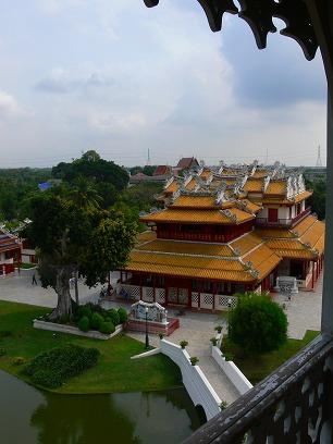 タイ出張2011年04月-週末旅行(I)-アユタヤ(1)-バンパイン宮殿と日本人街跡_c0153302_2311429.jpg