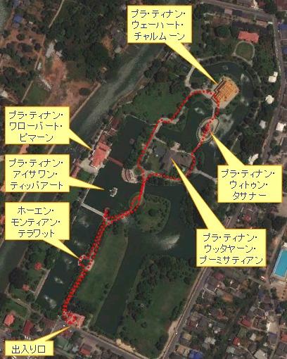 タイ出張2011年04月-週末旅行(I)-アユタヤ(1)-バンパイン宮殿と日本人街跡_c0153302_2494374.jpg