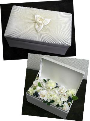 お花のリングピロー_a0118355_14542426.jpg