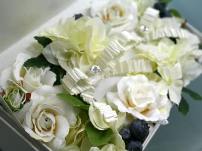 お花のリングピロー_a0118355_1454984.jpg