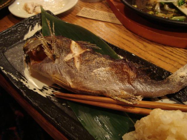 新宿「原始焼 二代目 魚々子(ななこ)」へ行く。_f0232060_0551165.jpg