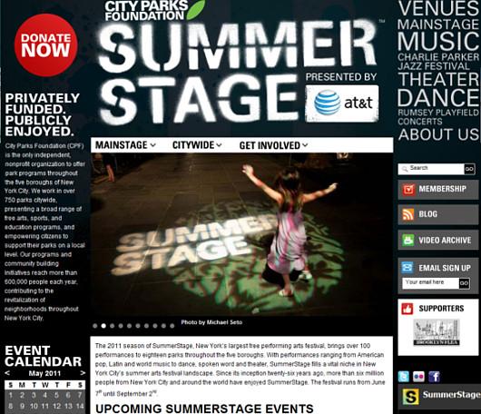 ニューヨークの無料夏季イベント、サマー・ステージのカレンダー_b0007805_55729100.jpg