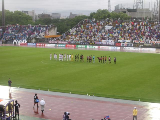 2011JリーグDivision2 第14節 京都サンガFC - FC東京_b0042308_11322918.jpg