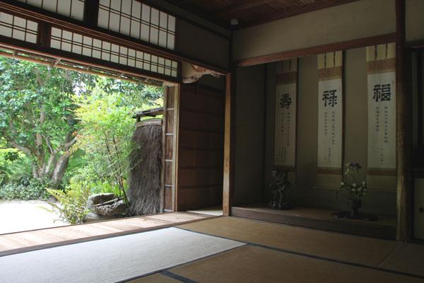 詩仙堂 サツキの庭_e0048413_19584197.jpg