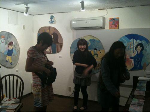 アサイヒロミちゃん個展。_c0177527_22161388.jpg