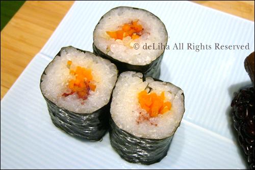 <野菜寿し ポタジエ>・野菜のお寿司が美味しい♪_c0131054_22101329.jpg