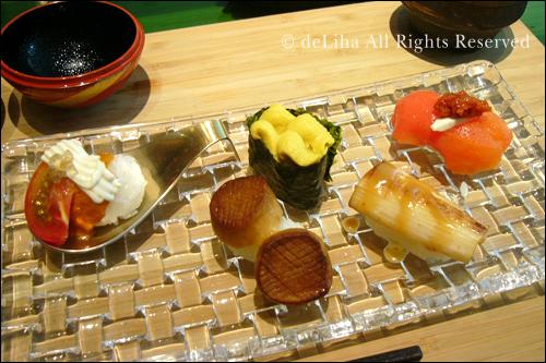 <野菜寿し ポタジエ>・野菜のお寿司が美味しい♪_c0131054_22103724.jpg