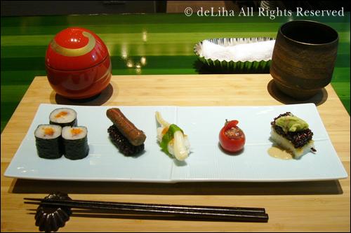 <野菜寿し ポタジエ>・野菜のお寿司が美味しい♪_c0131054_2292170.jpg