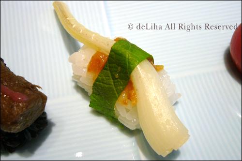 <野菜寿し ポタジエ>・野菜のお寿司が美味しい♪_c0131054_2295074.jpg