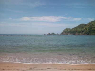 ~  安木海水浴場  ~ _d0135908_1241233.jpg