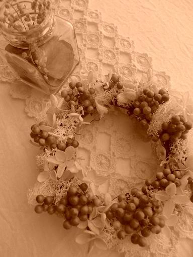 7月の手作りの会~ペッパーベリーのミニリースと夏の便り~お知らせ_f0168730_1841853.jpg