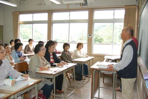 「武生高校同窓会関西支部女性の会:大人の林間学校」_c0108460_2226393.jpg